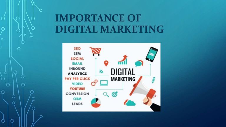 Importance of Digital Marketing: