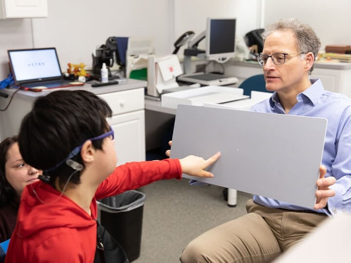 Low Vision Clinic Offers Help to Those with Low Vision