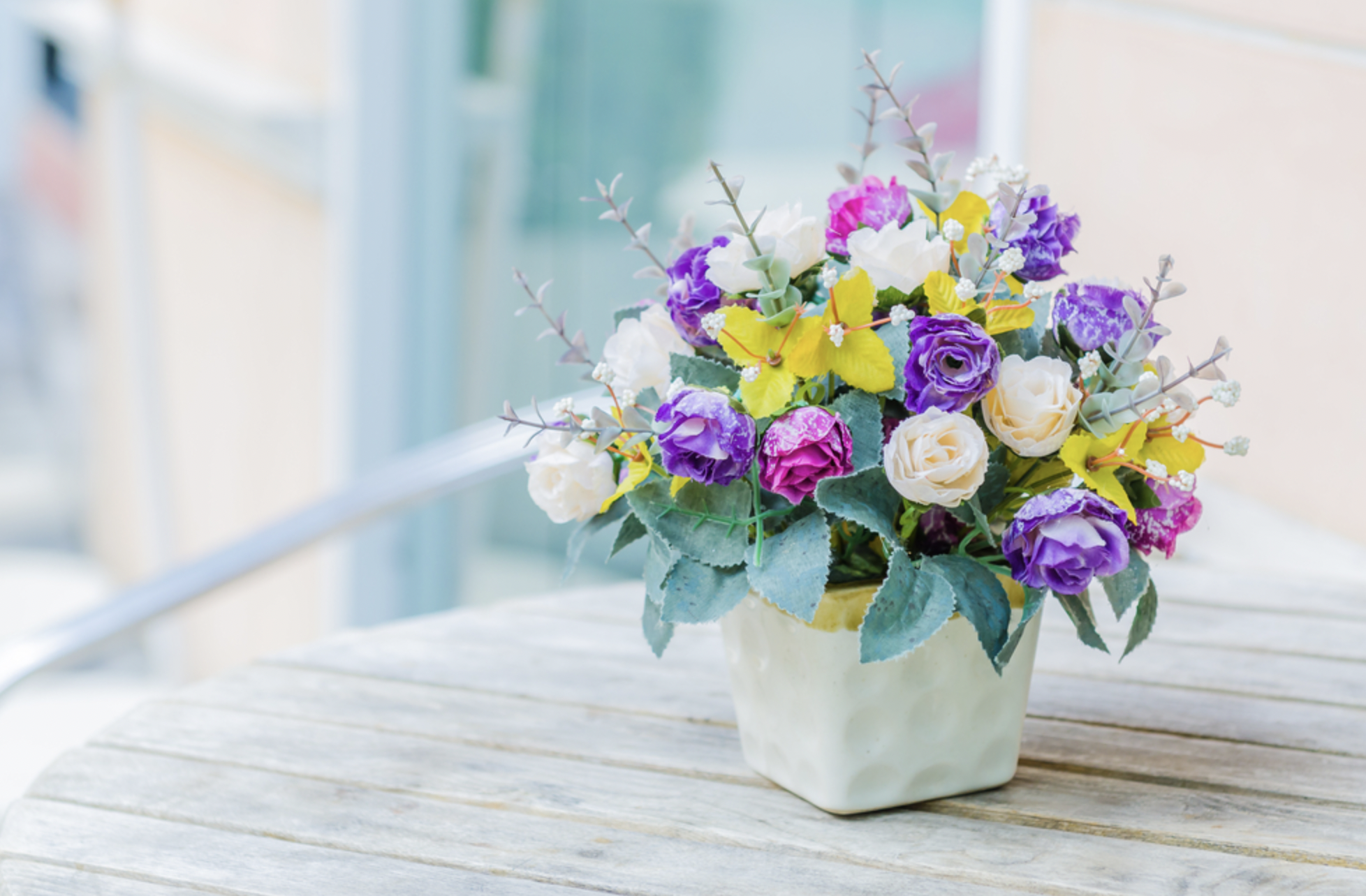 What makes flowers the best surprise?