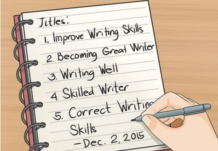 3 Ways to get the writing skills of a veteran writer