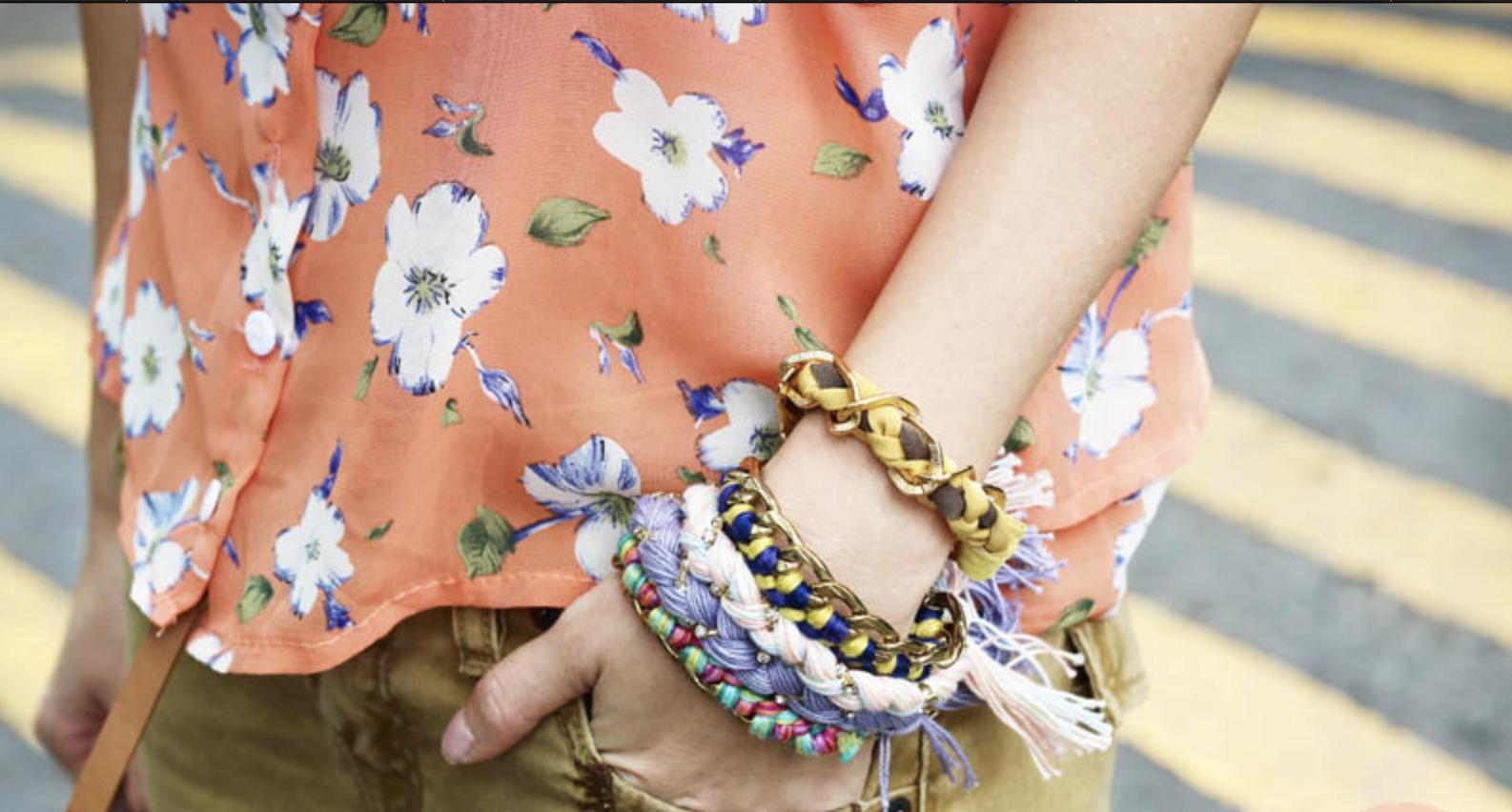 Make the Friendship Bracelets a Part of Your Attire